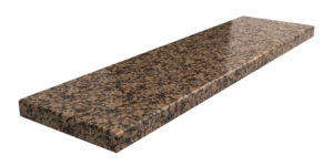 parapet z granitu Baltic Brown