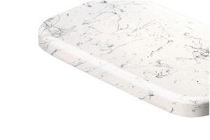 Parapet MDF lakierowany Marmurek Biały