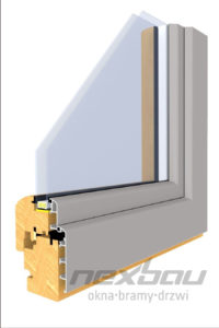 Drewniano-aluminiowy profil Classic